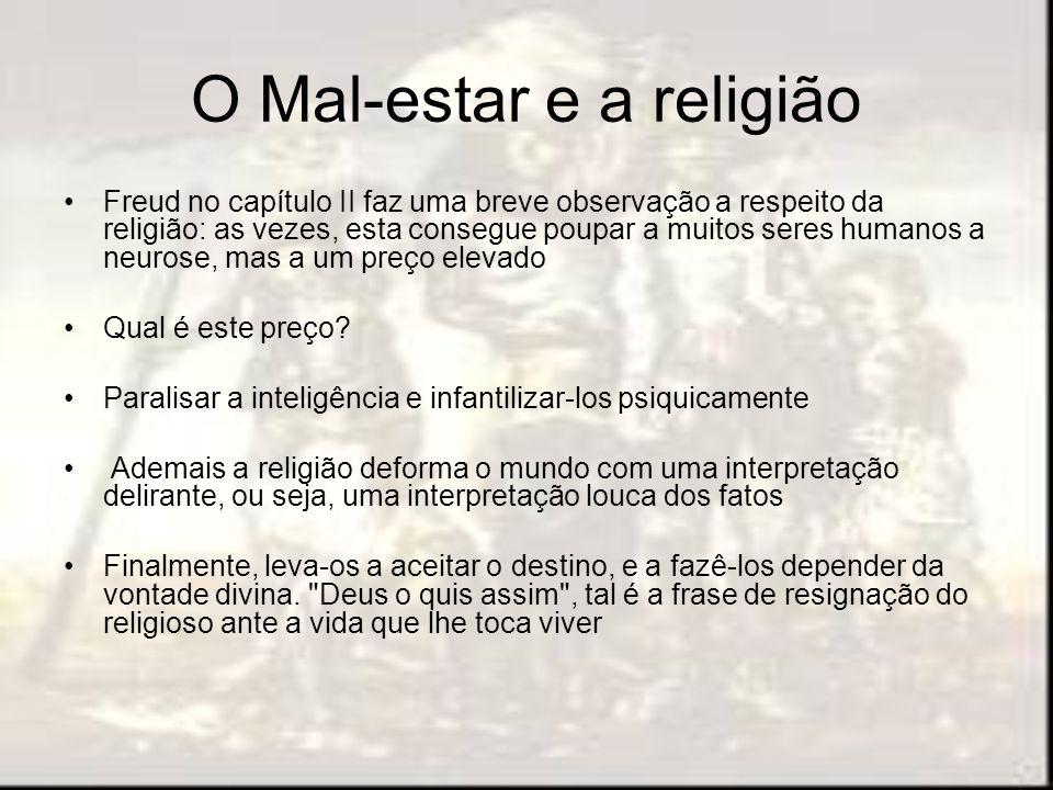 O Mal-estar e a religião