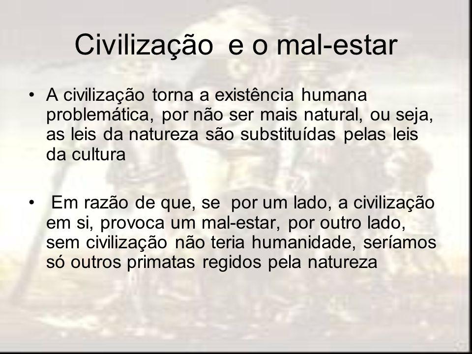 Civilização e o mal-estar