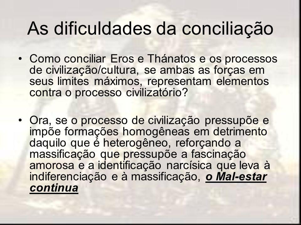 As dificuldades da conciliação