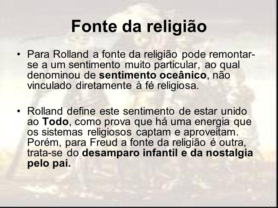 Fonte da religião