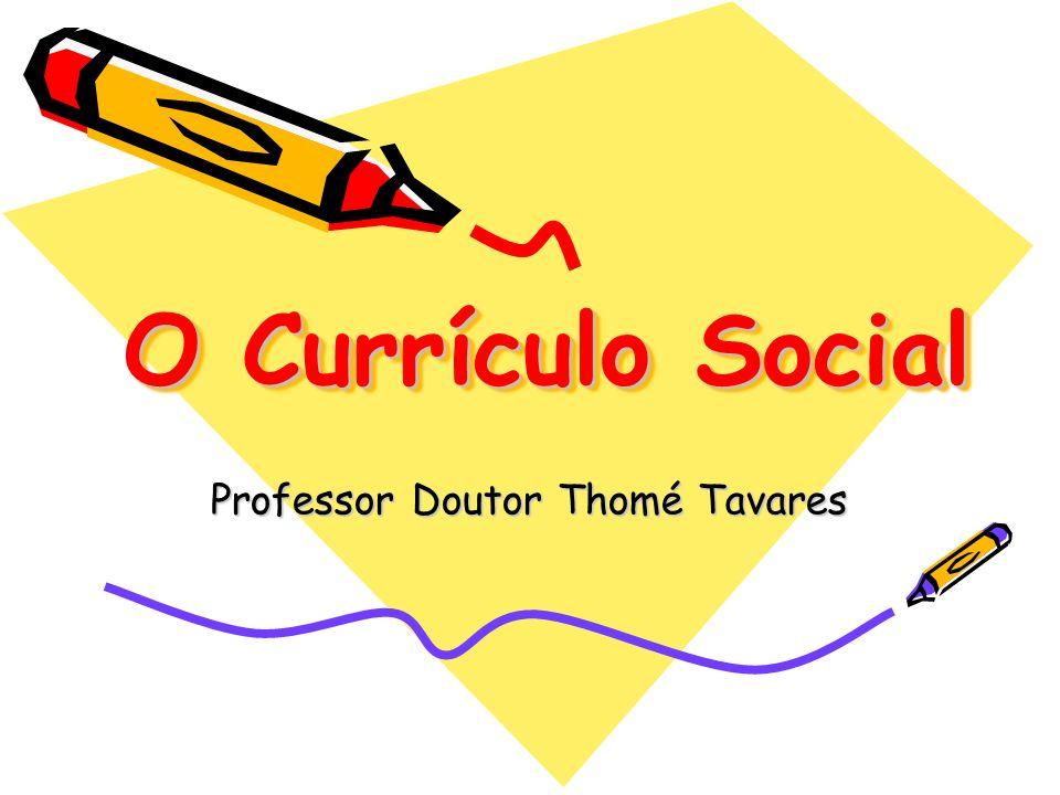 Professor Doutor Thomé Tavares