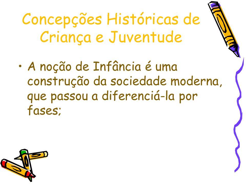 Concepções Históricas de Criança e Juventude