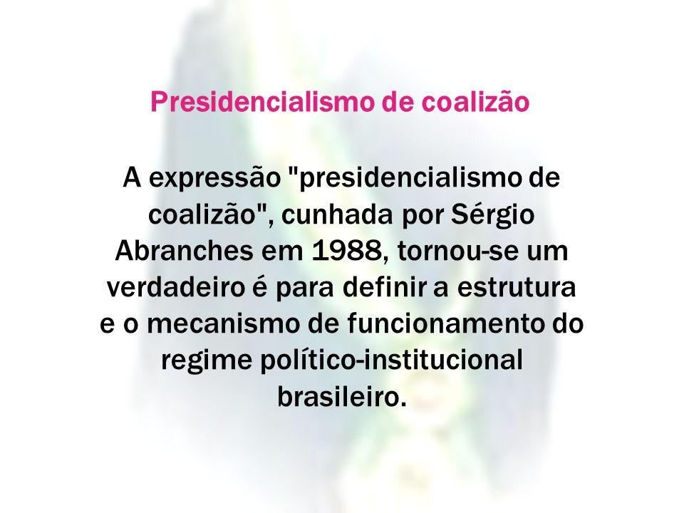 Presidencialismo de coalizão
