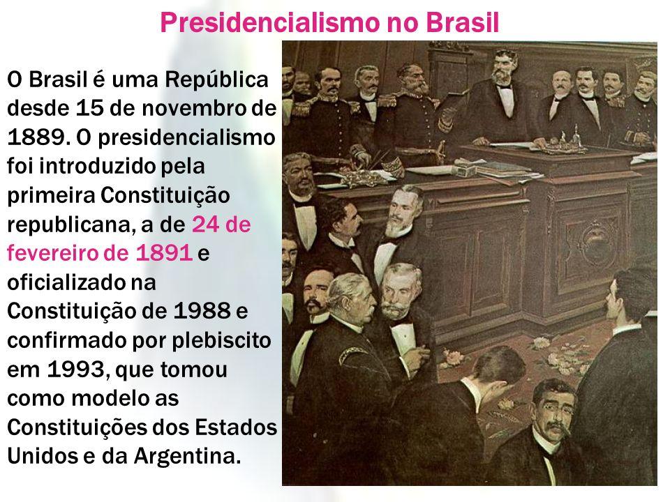 Presidencialismo no Brasil