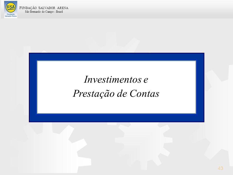 Investimentos e Prestação de Contas 43