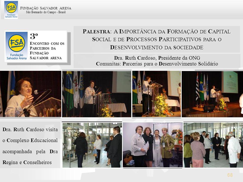 PALESTRA: A IMPORTÂNCIA DA FORMAÇÃO DE CAPITAL SOCIAL E DE PROCESSOS PARTICIPATIVOS PARA O DESENVOLVIMENTO DA SOCIEDADE