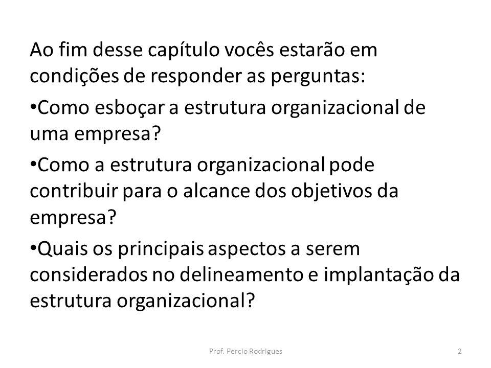 Como esboçar a estrutura organizacional de uma empresa