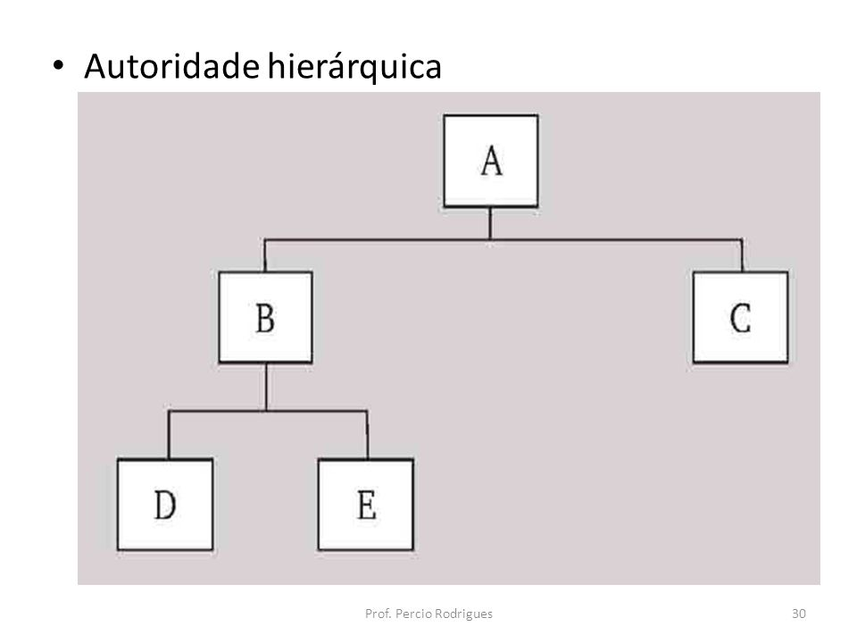 Autoridade hierárquica