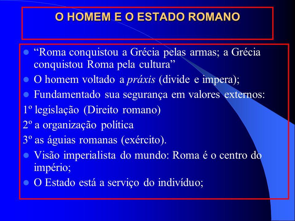 O HOMEM E O ESTADO ROMANO