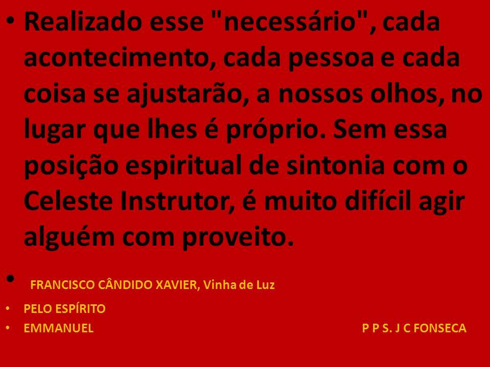 FRANCISCO CÂNDIDO XAVIER, Vinha de Luz