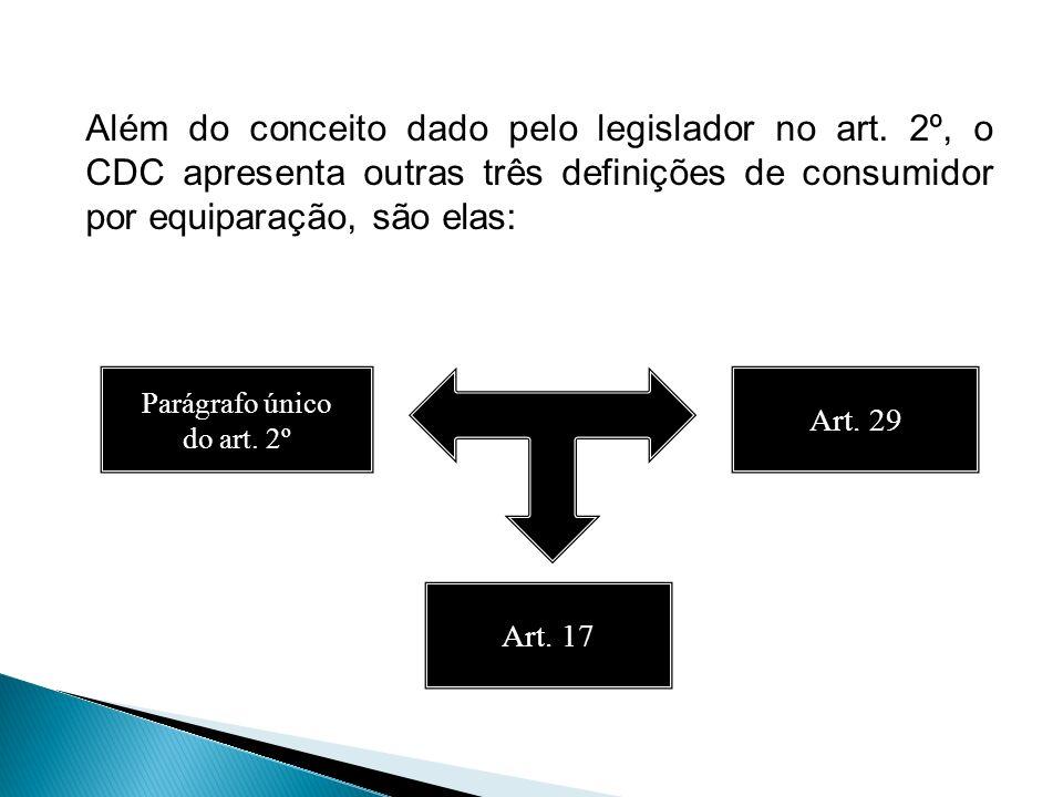 Além do conceito dado pelo legislador no art
