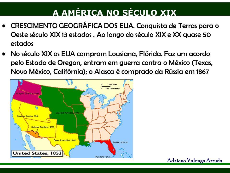 CRESCIMENTO GEOGRÁFICA DOS EUA