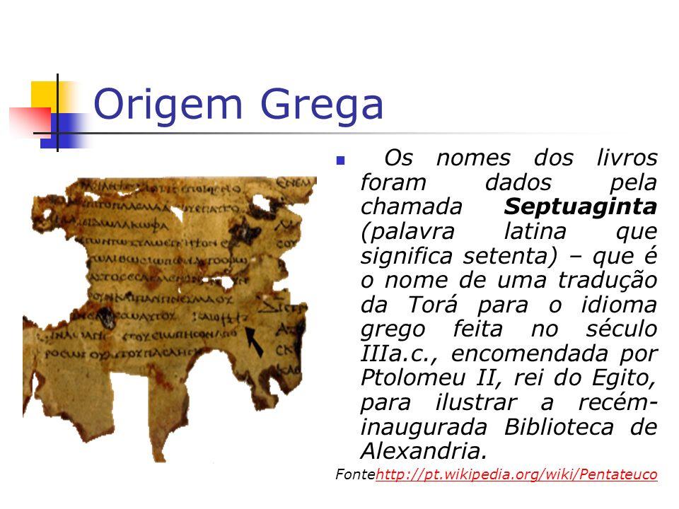 Origem Grega