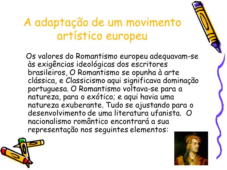 A adaptação de um movimento artístico europeu
