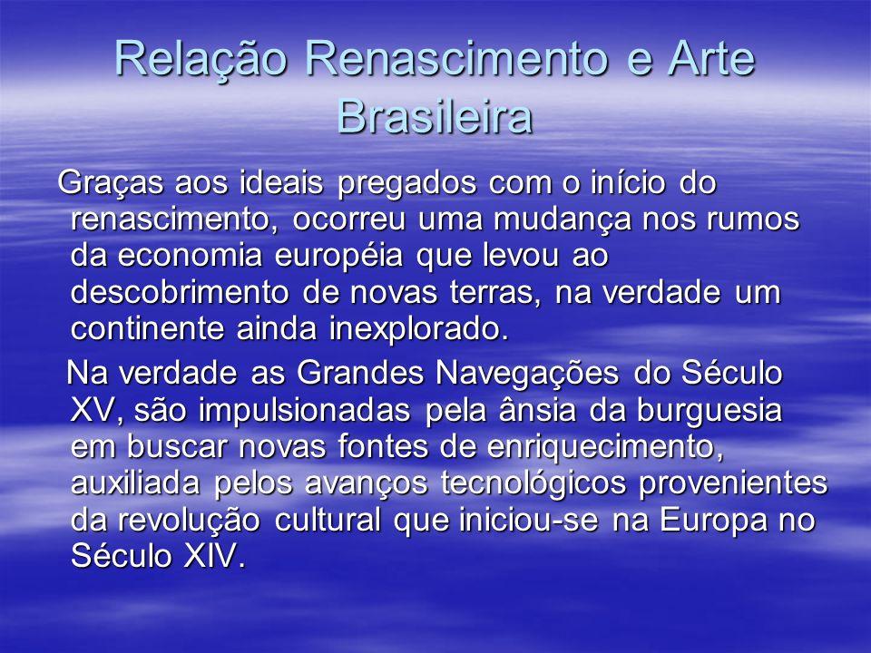 Relação Renascimento e Arte Brasileira