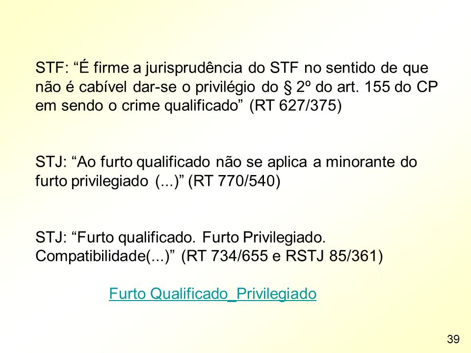 Furto Qualificado_Privilegiado