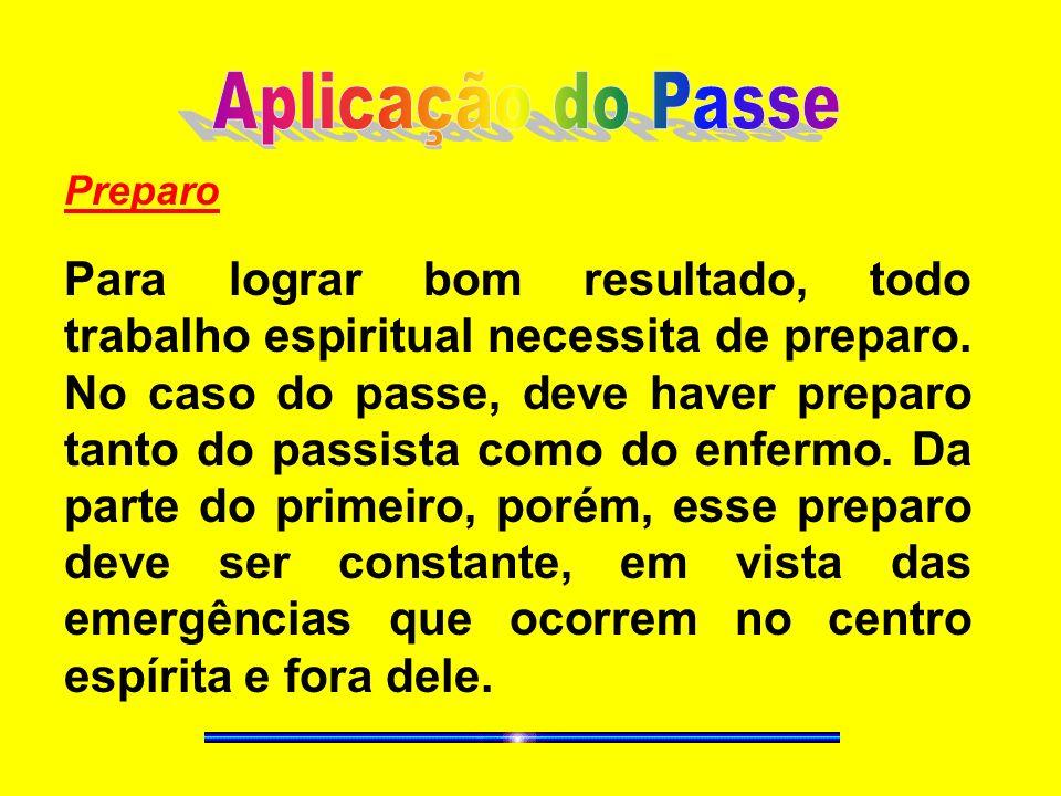 Aplicação do PassePreparo.