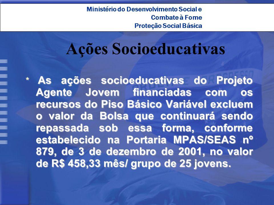 Ações Socioeducativas