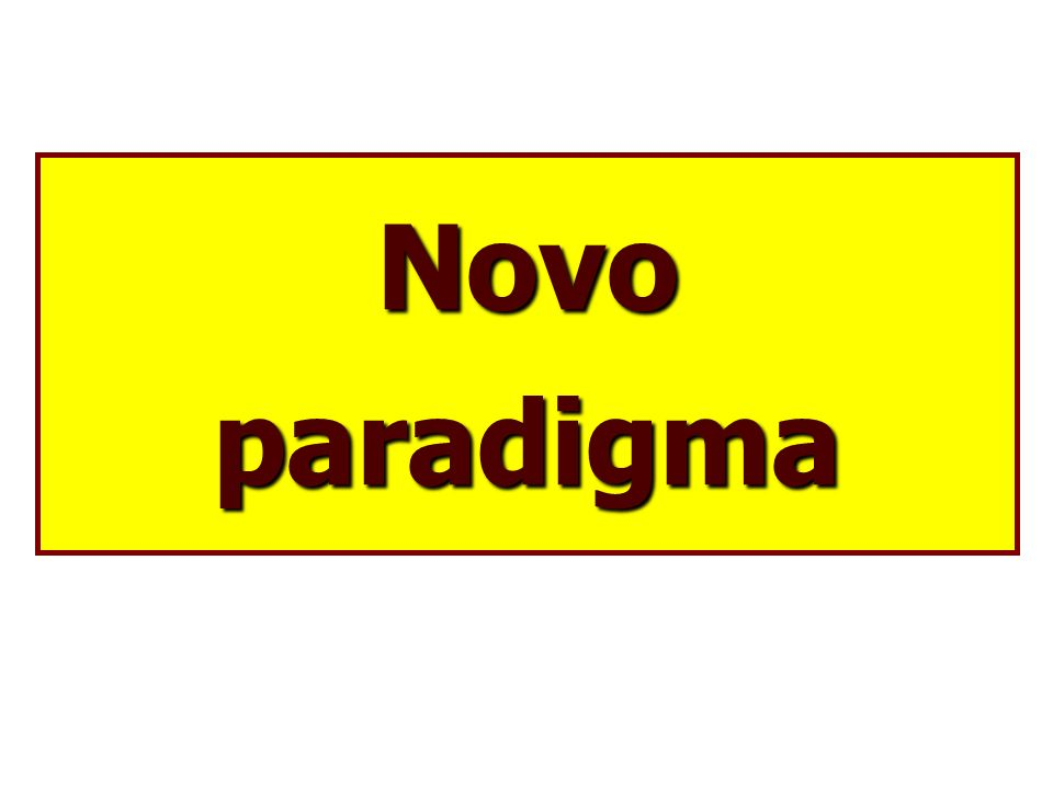 Novo paradigma