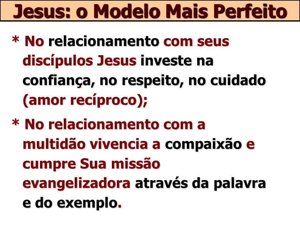 Jesus: o Modelo Mais Perfeito