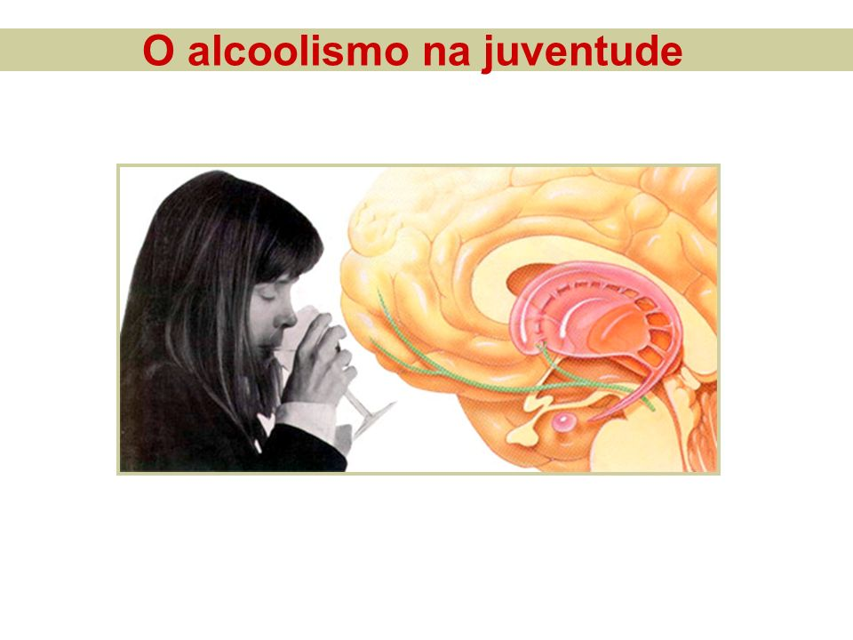 O alcoolismo na juventude