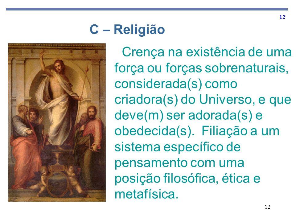 C – Religião
