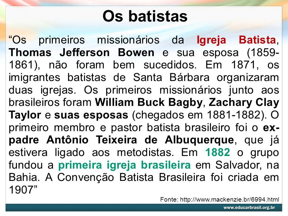 Os batistas