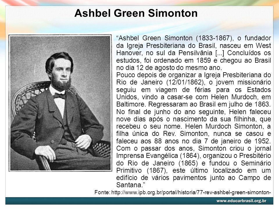 Ashbel Green Simonton