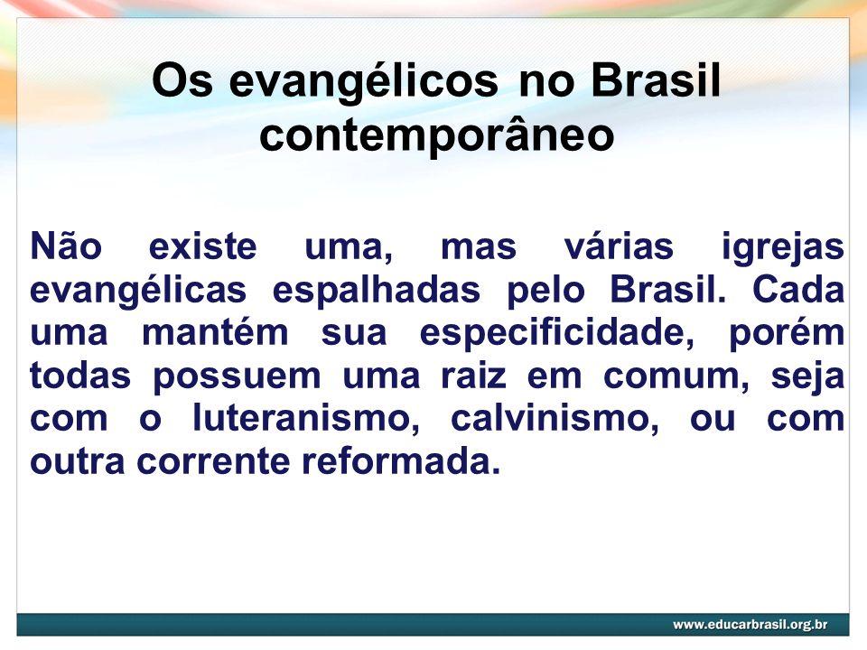 Os evangélicos no Brasil contemporâneo