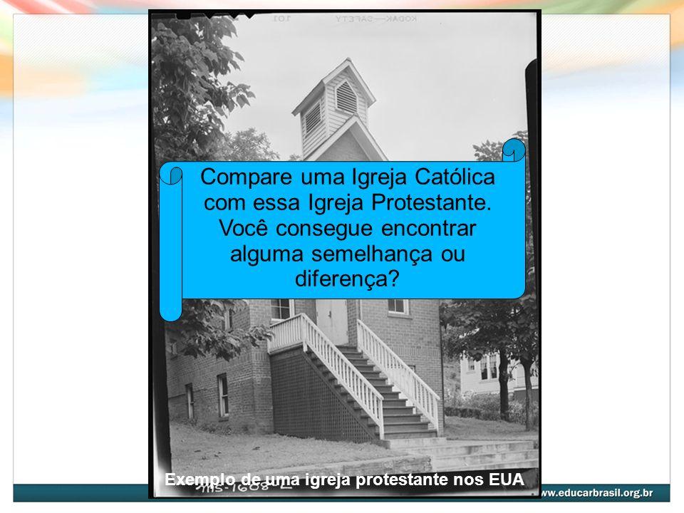 Exemplo de uma igreja protestante nos EUA