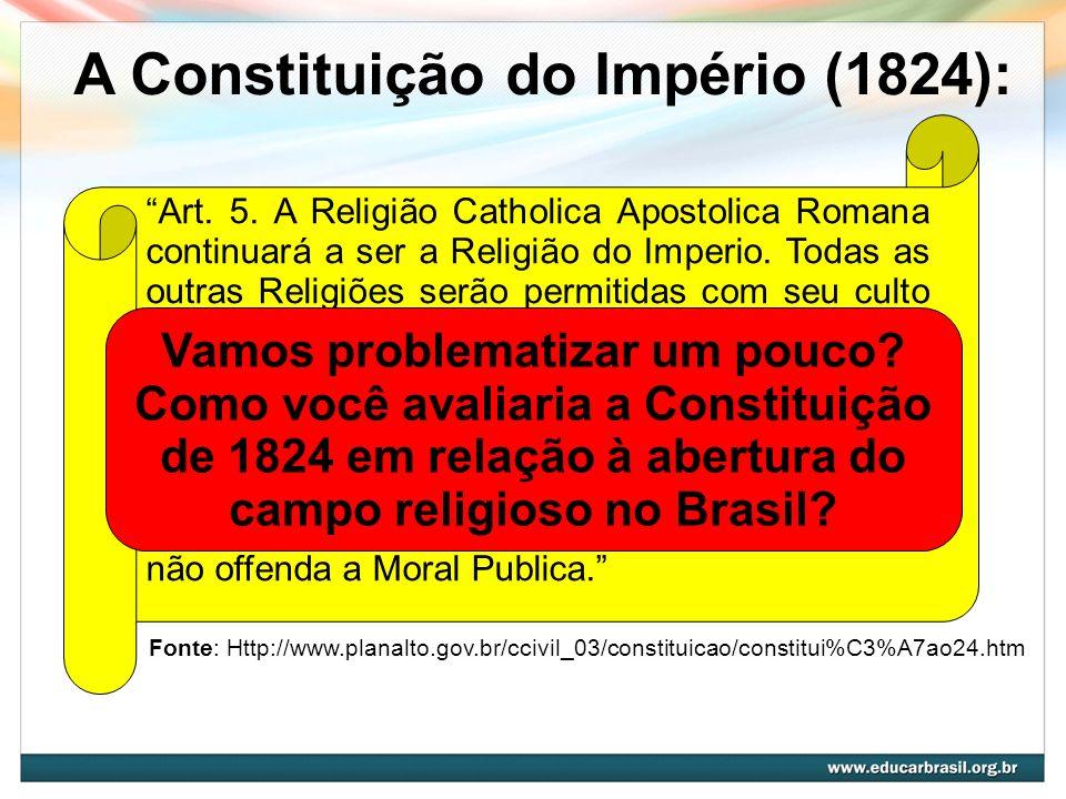 A Constituição do Império (1824):