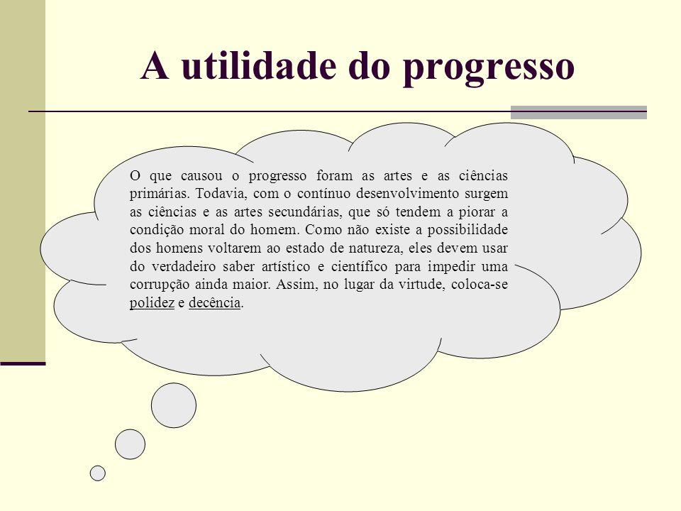 A utilidade do progresso