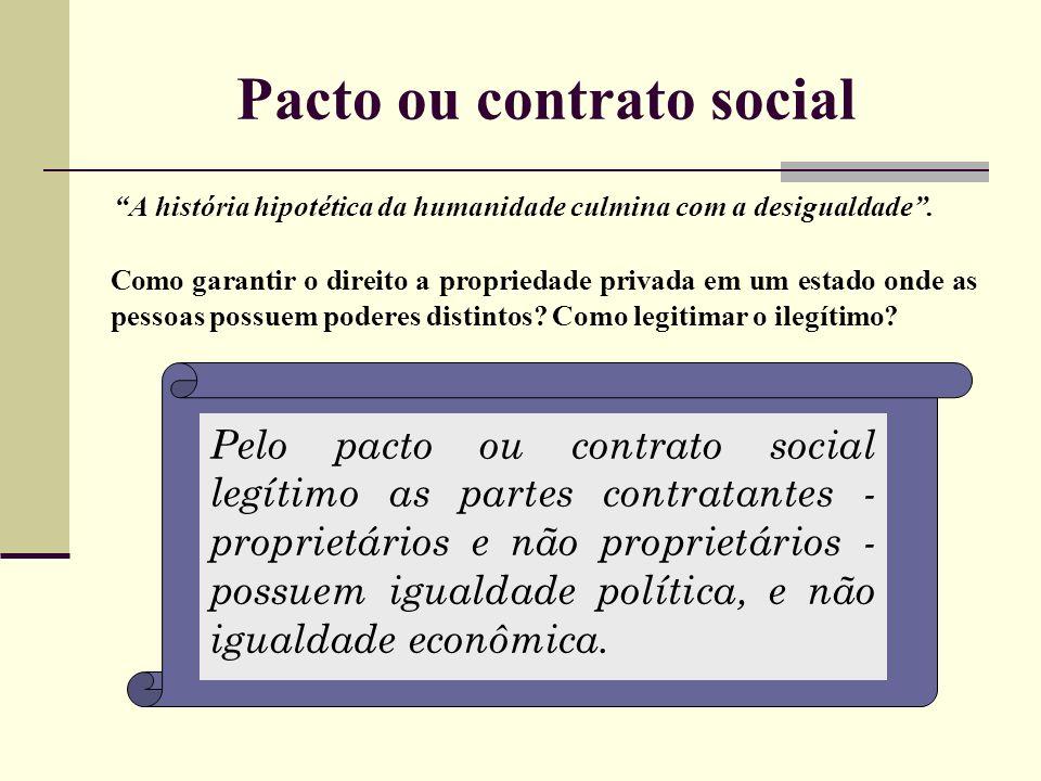 Pacto ou contrato social