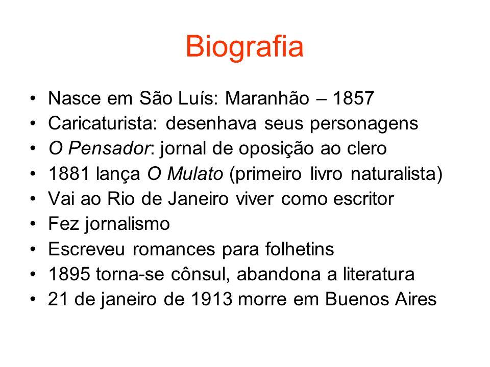Biografia Nasce em São Luís: Maranhão – 1857