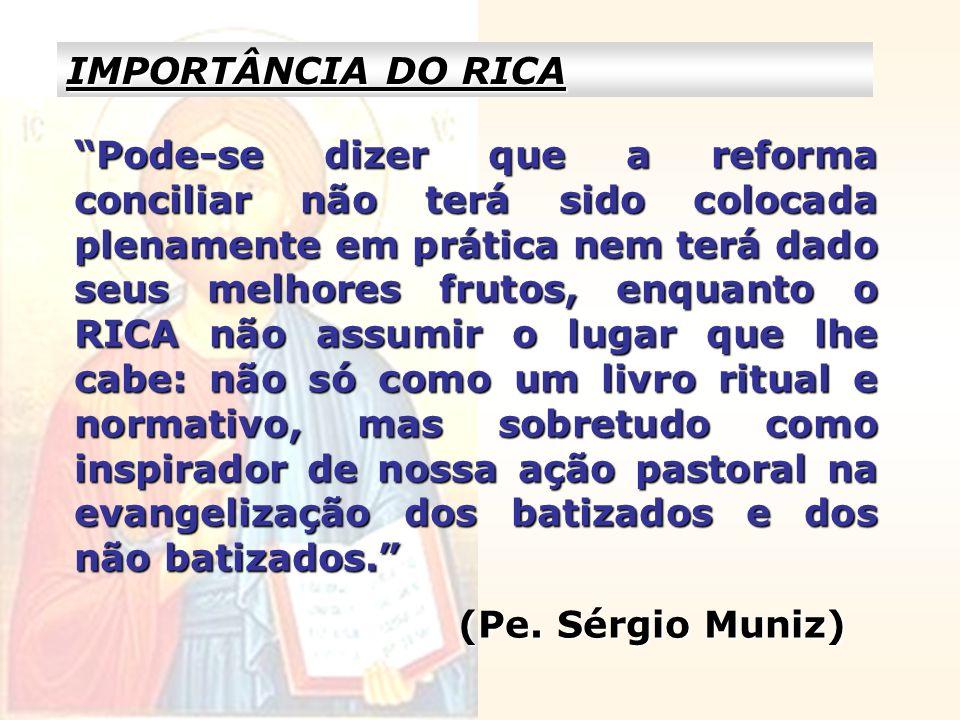 IMPORTÂNCIA DO RICA