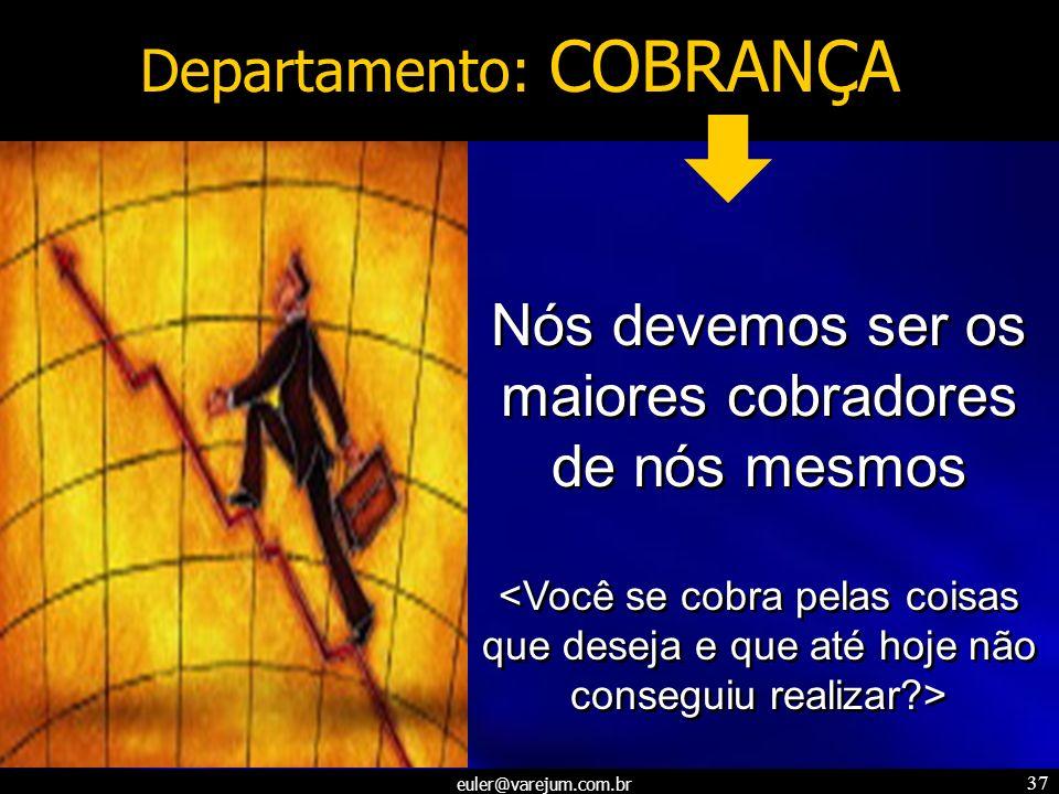 Departamento: COBRANÇA