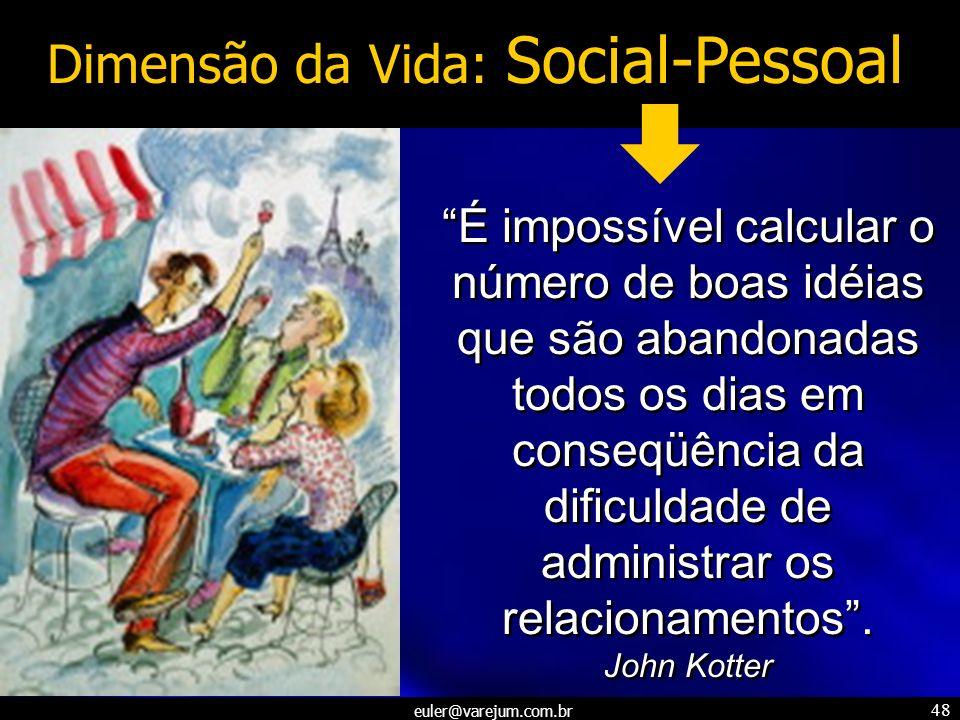 Dimensão da Vida: Social-Pessoal