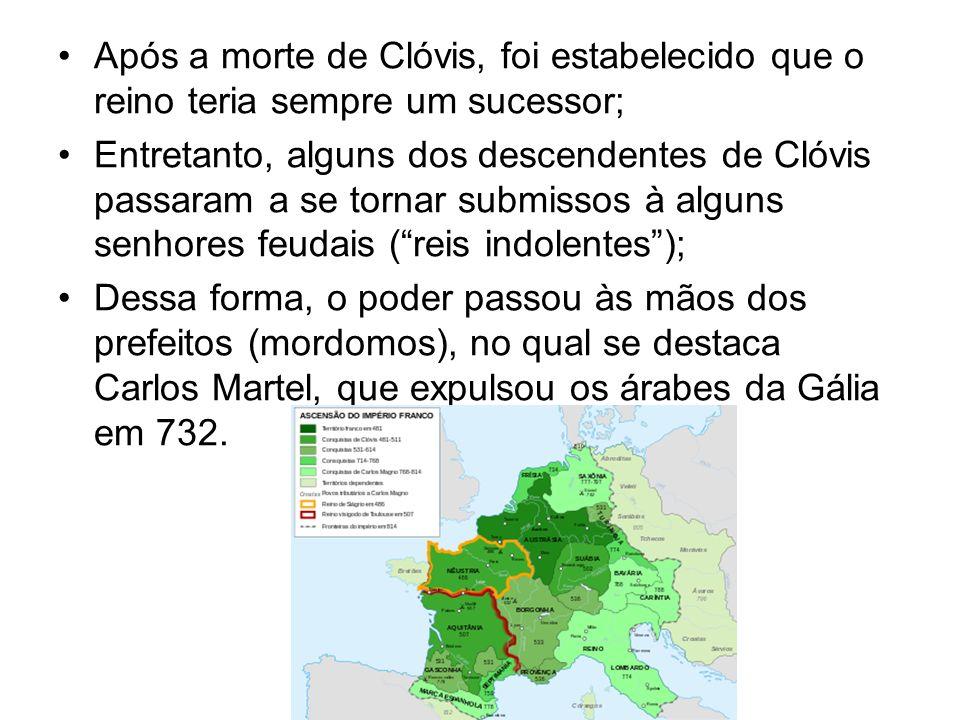 Após a morte de Clóvis, foi estabelecido que o reino teria sempre um sucessor;