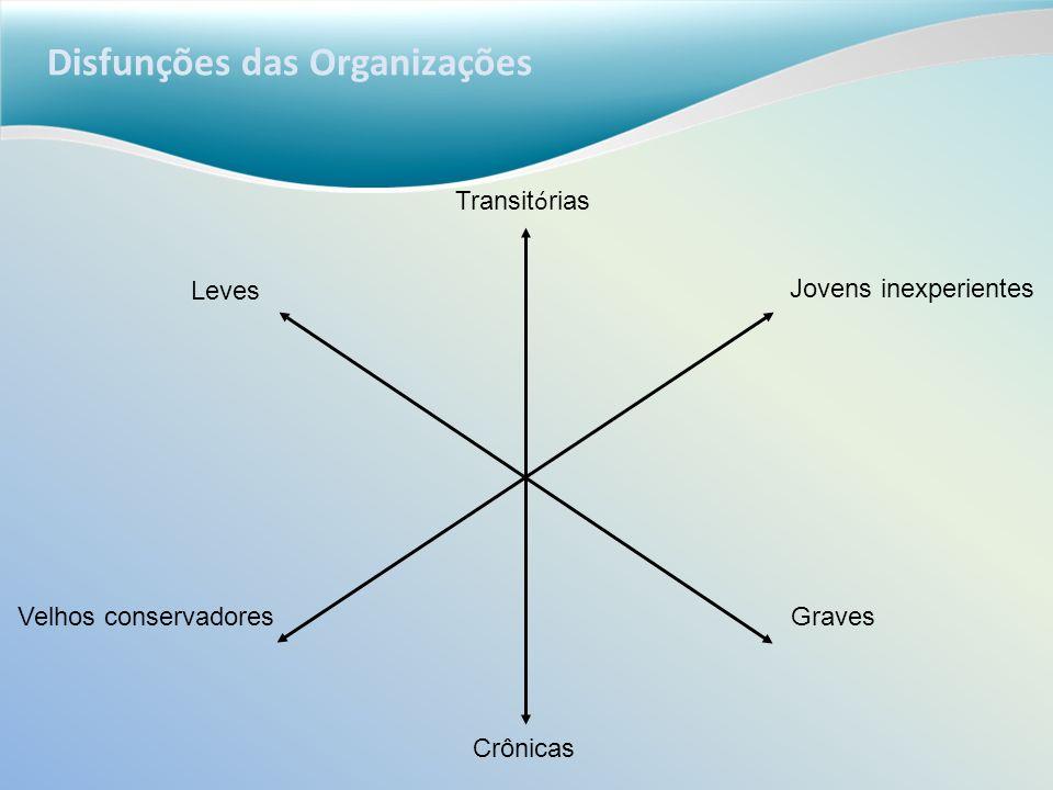 Disfunções das Organizações