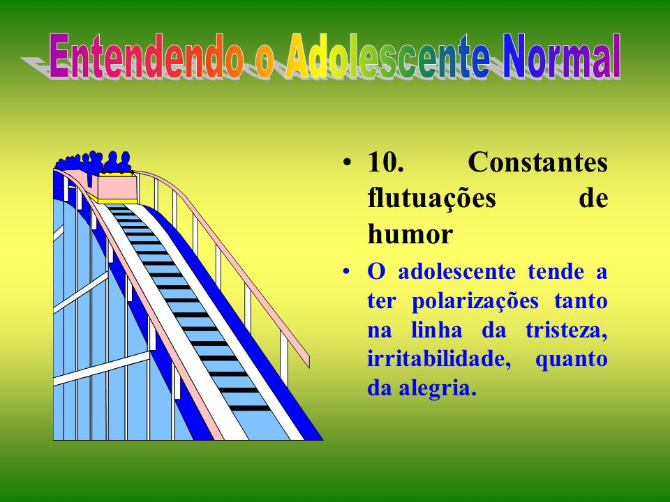 Entendendo o Adolescente Normal