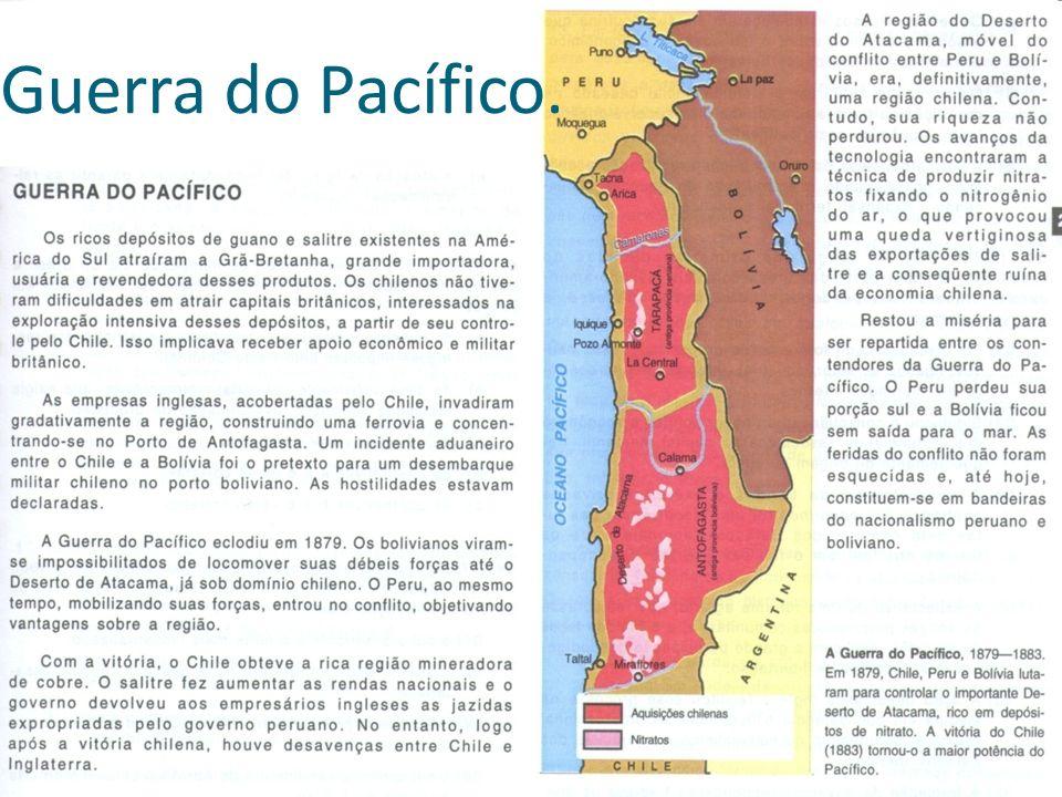Guerra do Pacífico.