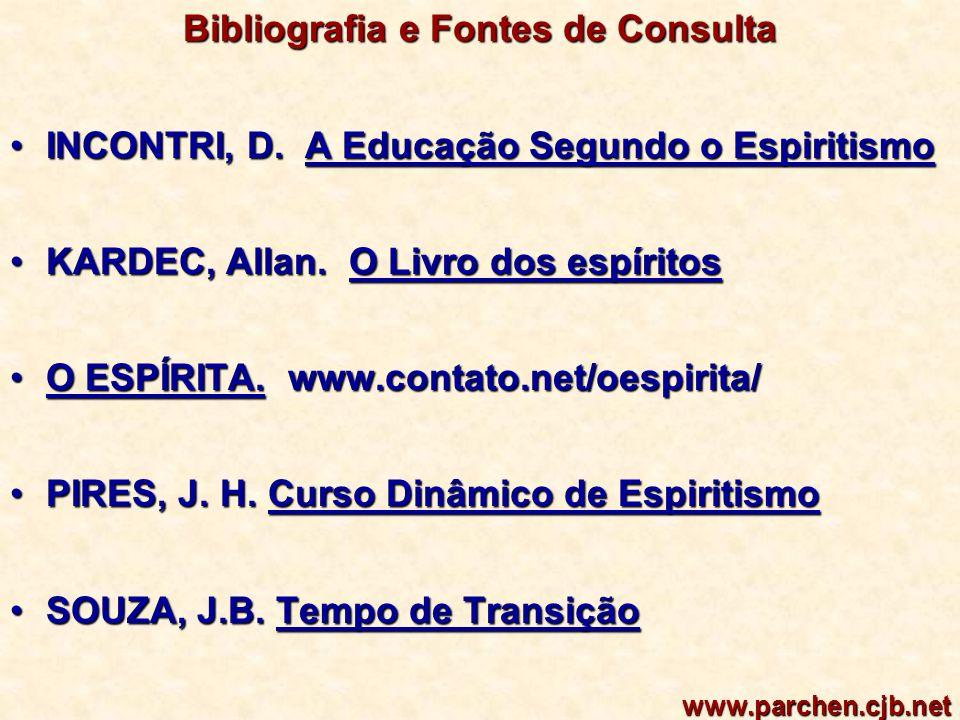 Bibliografia e Fontes de Consulta