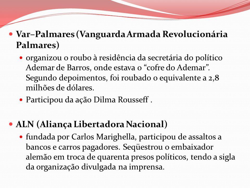 Var–Palmares (Vanguarda Armada Revolucionária Palmares)
