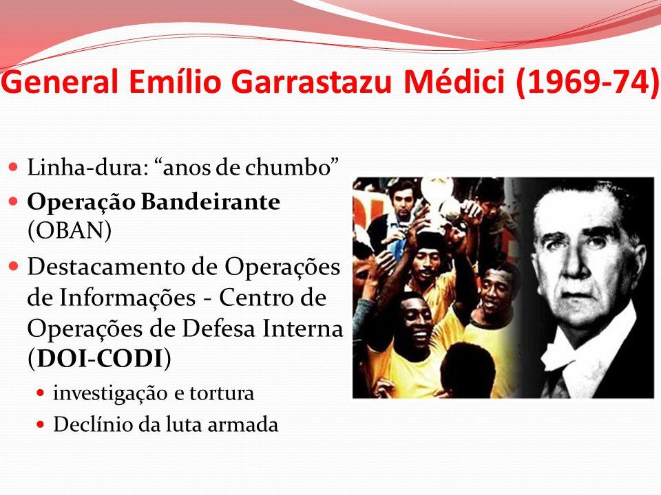 General Emílio Garrastazu Médici (1969-74)