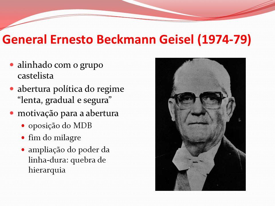 General Ernesto Beckmann Geisel (1974-79)