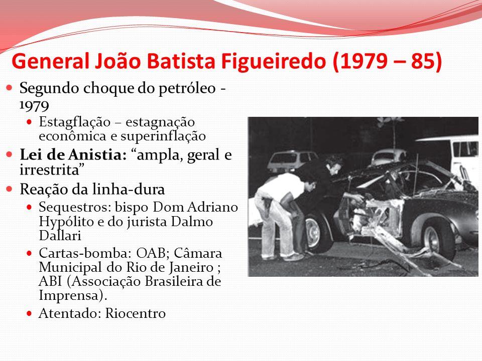 General João Batista Figueiredo (1979 – 85)