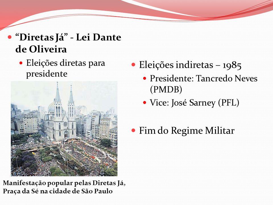 Diretas Já - Lei Dante de Oliveira