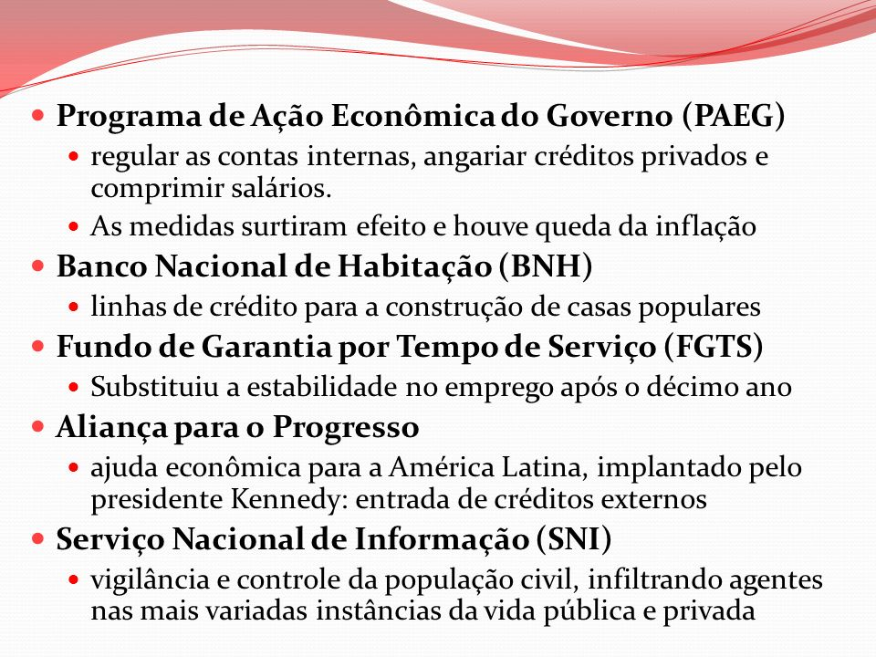 Programa de Ação Econômica do Governo (PAEG)