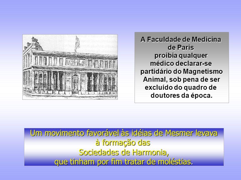A Faculdade de Medicina partidário do Magnetismo