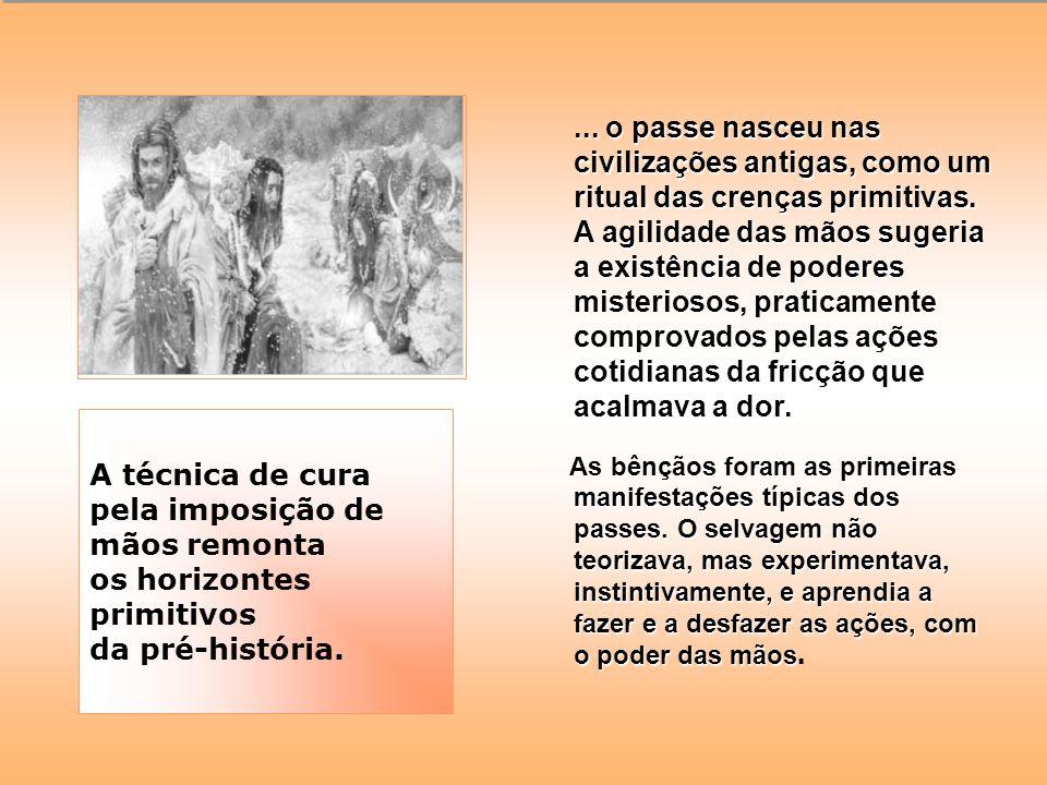 O PASSE NA HISTÓRIA DA HUMANIDADE